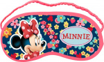 Disney sleeping mask Minnie Mouse18 x 8.5 cm blue/pink
