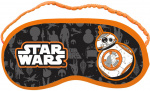 Disney sleeping mask Star WarsBB8 18 x 8,5 cm orange/grey