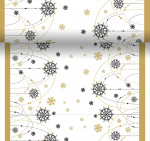 Duni chemin de table Snow480 cm papier blanc