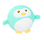 Eddy Toys ball cuddly penguin junior 9 cm plush blue