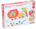 Eddy Toys mosaik-Puzzle 4-in-1 Junior rot 248-teilig