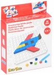 Eddy Toys mozaïekpuzzel 4-in-1 junior rood 59-delig