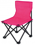 Eurotrail high chair Lille47 x 30 cm polyester/steel pink