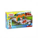 Fisher-Price Take-n-Play Tile Tracks kindertrein oranje