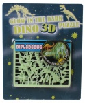 Free and Easy 3D puzzel glow in the dark 17 cm diplodocus