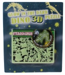 Free and Easy 3D puzzel glow in the dark 17 cm stegosaurus