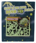Free and Easy 3D puzzel glow in the dark 17 cm triceratops