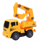 Free and Easy construction vehicle excavator 17 cm yellow/black