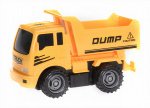 Free and Easy construction vehicle tipper 17 cm yellow/black