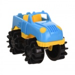 Free and Easy speelgoedauto monstertruck 12 cm blauw
