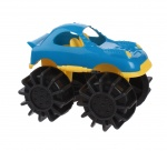 Free and Easy speelgoedauto monstertruck blauw 12 cm