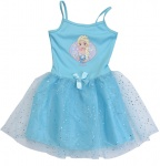 Free and Easy tutu-jurk Frozen blauw