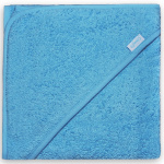 Funnies junior bath cape 80 cm cotton blue