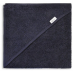 Funnies bath cape junior 80 cm cotton dark blue