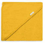 Funnies bath cape junior 80 cm cotton yellow