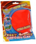 Funny clay Gummy Airfoam junior 55 grammes rouge