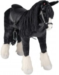 Happy People horse Shire with sound black 83 cm