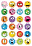 Haza Original stickers smiley 48 stuks multicolor