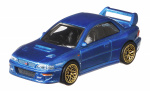 Hot Wheels auto '98 Subara Impreza junior 1:64 blauw