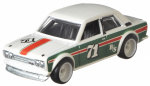 Hot Wheels auto Datsun 510 junior 1:64 wit/groen/rood