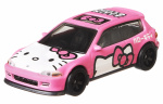 Hot Wheels auto Honda Civic Hello Kitty junior 1:64 roze