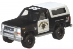 Hot Wheels auto Porsche Ford Bronco '85 junior 1:64 zwart/wit