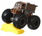 Hot Wheels monstertruck Chewbacca 9 cm bruin 2-delig