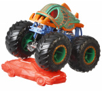 Hot Wheels monstertruck Piran-Ahhh 9 cm groen/oranje 2-delig