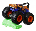 Hot Wheels monstertruck Scorpedo 9 cm blauw/oranje 2-delig