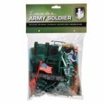 Johntoy Army Soldier speelset Heli 29-delig 5 cm