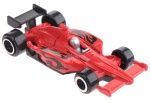 Johntoy raceauto Marauder Flame rood 7,5 cm
