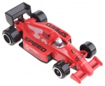Johntoy raceauto Speed 6 Classic rood 7,5 cm