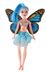 Jonotoys teenage dolls with wings Fairy Princess20 cm blue