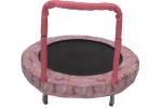 Jumpking trampoline Mini BouncerPink Bunny 121 cm pink