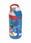 Kambukka drinkfles Lagoon Happy Alien 400 ml blauw/rood