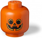 LEGO storage box Pumpkin large 24 x 27 cm polypropylene orange
