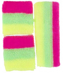 LG-Imports neon sweatbands pink/green/yellow