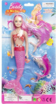 LG-Imports doll mermaid girls pink 3-piece
