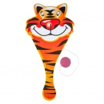LG-Imports racket with ball tiger 23 cm orange