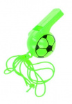 LG-Imports soccer whistle boys 25 cm green 2-piece