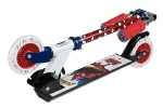 Marvel step Spider-Man Junior Voetrem Wit/Rood