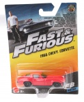 Mattel Fast & Furious 1966 Chevy Corvette red 9 cm