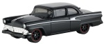 Mattel Fast & Furious Ford Victoria 1956 car black 8 cm