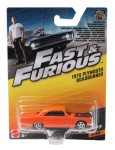 Mattel Fast & Furious Plymouth Roadrunner auto orange 9 cm