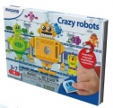 MINILAND TAAL: ON THE GO MAGNETISCH SPEL CRAZY ROBOTS