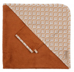 Pericles bath tape set 80 cm cotton/bamboo brown/white
