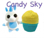 Splash Toys Sweet Pups Muffin Surprise Candy Sky junior 25 cm