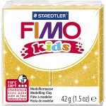 Staedtler Fimo Kids modelling clay 42 grams glitter gold