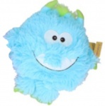Sunkid cuddly toy Monsterjunior plush 21 cm light blue