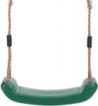 Swing King swing seat plastic 42 x 16 cm dark green